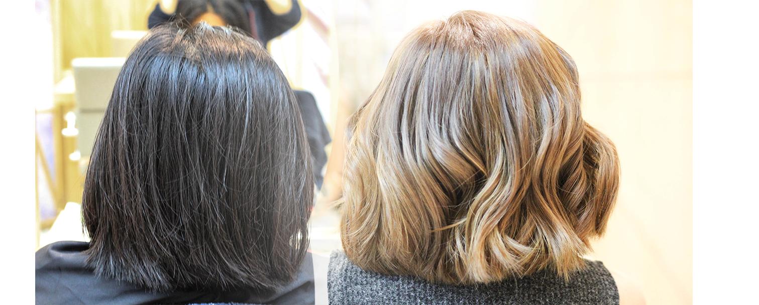 Vivere Salon Glorietta Hair Styling Performed By Senior Hairstylist