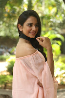 Rakul Preet Singh in lovely Pink Crop Top and Black Trousers at Jaya Janaki Nayaka success meet 031.JPG