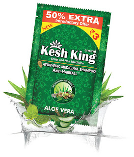 KESH KING INTRODUCES SACHET PACK FOR ITS SHAMPOO