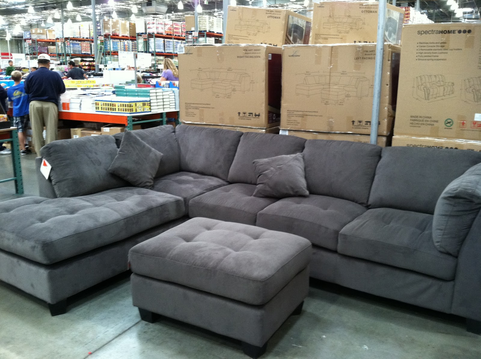 sofa costco ca samuel contemporary leather my sweet creations out with the old and in new