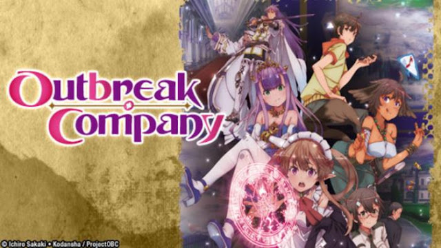Outbreak Company - Top Anime Like Konosuba (Kono Subarashii Sekai Ni Shukufuku Wo)
