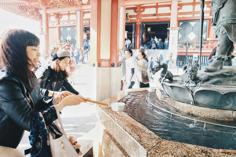 tata cara masuk ke kuil di jepang
