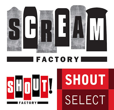 Scream Factory - Shout! Factory - Shout Select Logos!
