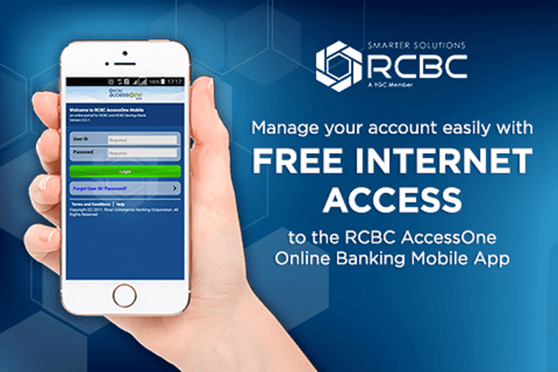 RCBC's AccessOne now free of charge via SafeZone