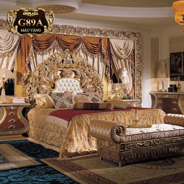 Giường ngủ cổ điển tại Onplaza