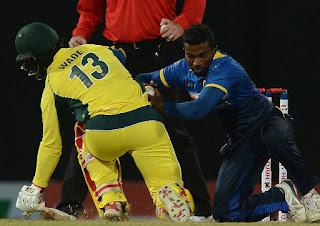 Sri Lanka beat Australia in 2nd ODI to draw level 1-1