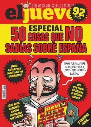 El Jueves núm. 2211: Especial, 50 cosas que no sabias de España