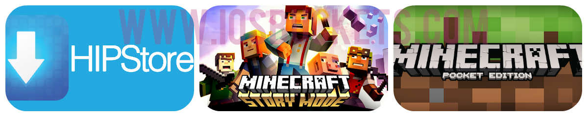 HiPStore Minecraft PE/ Story Mode iOS 10 Free Download And Install