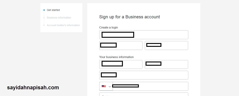 cara mudah daftar akaun paypal secara Online (latest 2017)