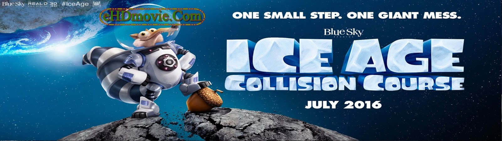Ice Age: Collision Course 2016 Full Movie Dual Audio [Hindi – English] 720p - 480p ORG BRRip 350MB - 950MB ESubs Free Download