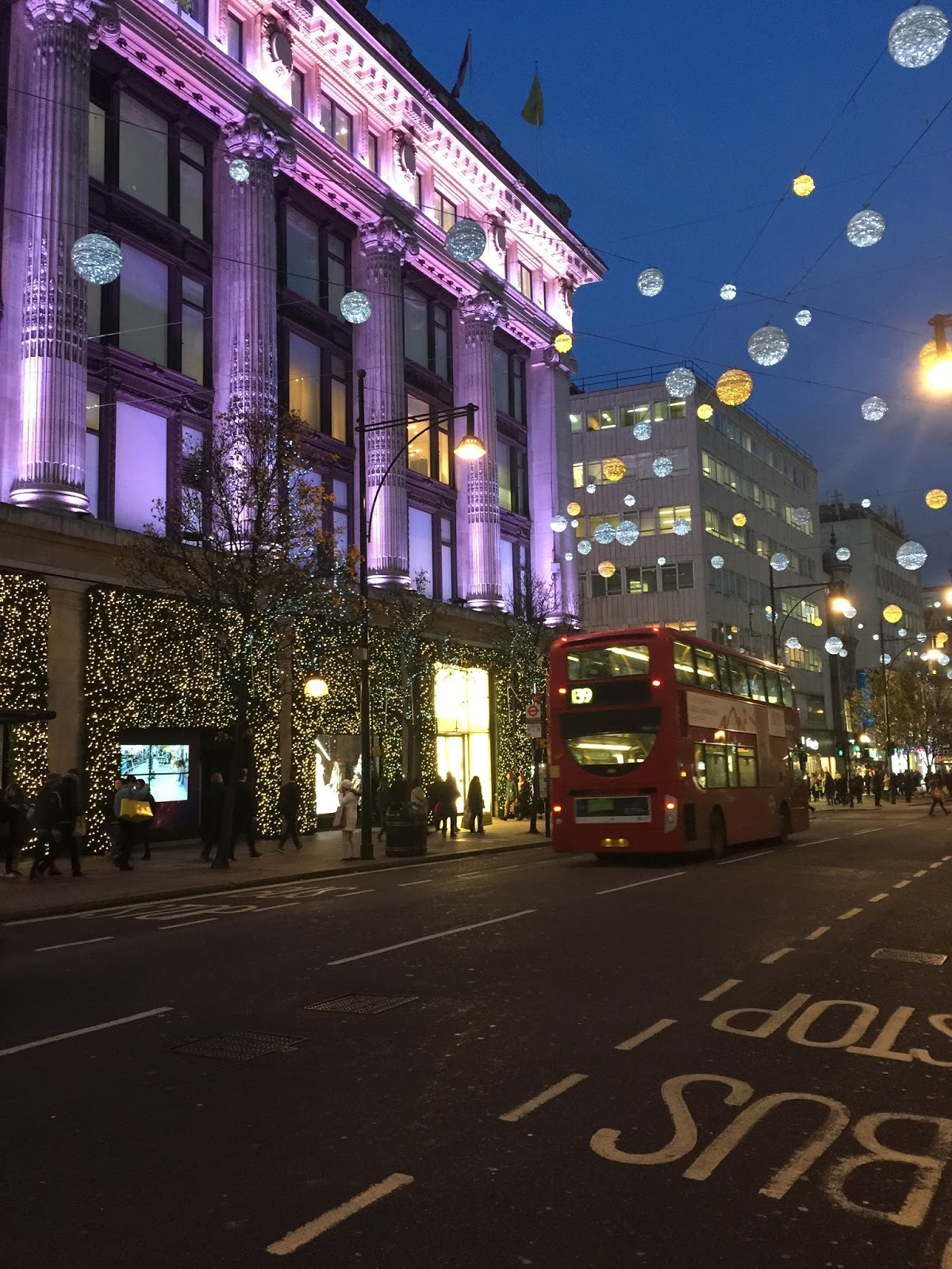 London Christmas Season
