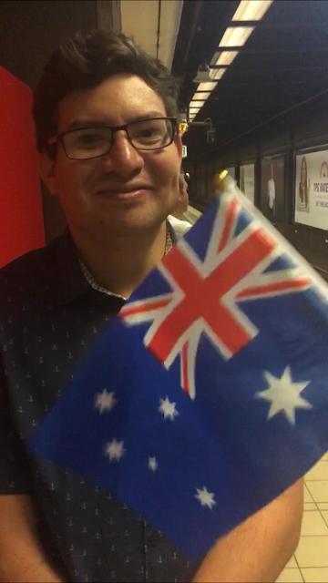 Jesse Passes his Australian Citizenship Test