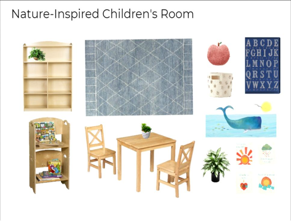 What Im Loving Simple Nature Inspired Childrens Rooms