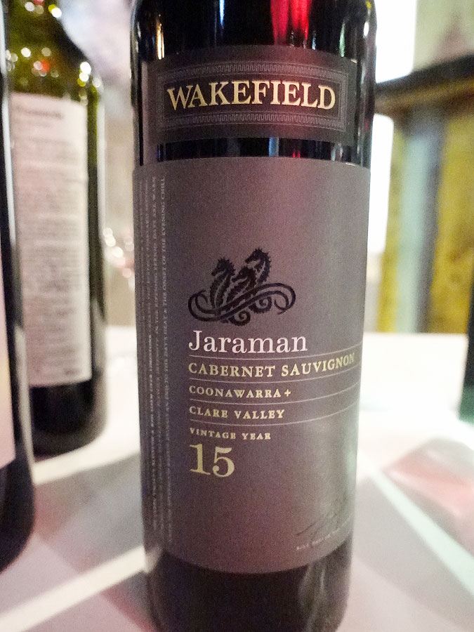 Wakefield Jaraman Cabernet Sauvignon 2015 (89 pts)