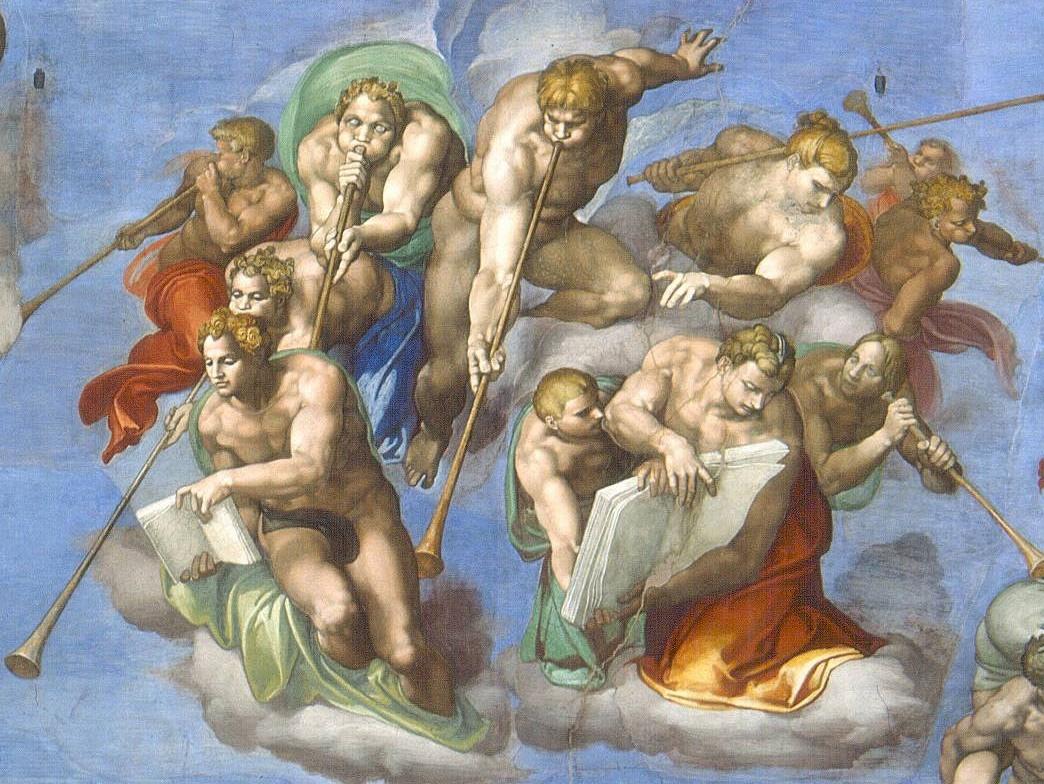 grandes iconos universales xiii el juicio final miguel ngel 1537 41. Black Bedroom Furniture Sets. Home Design Ideas