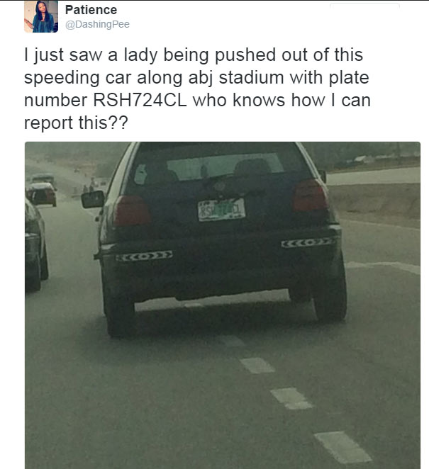 Search for driver who pushed lady out of moving vehicle in Lagos intensifies