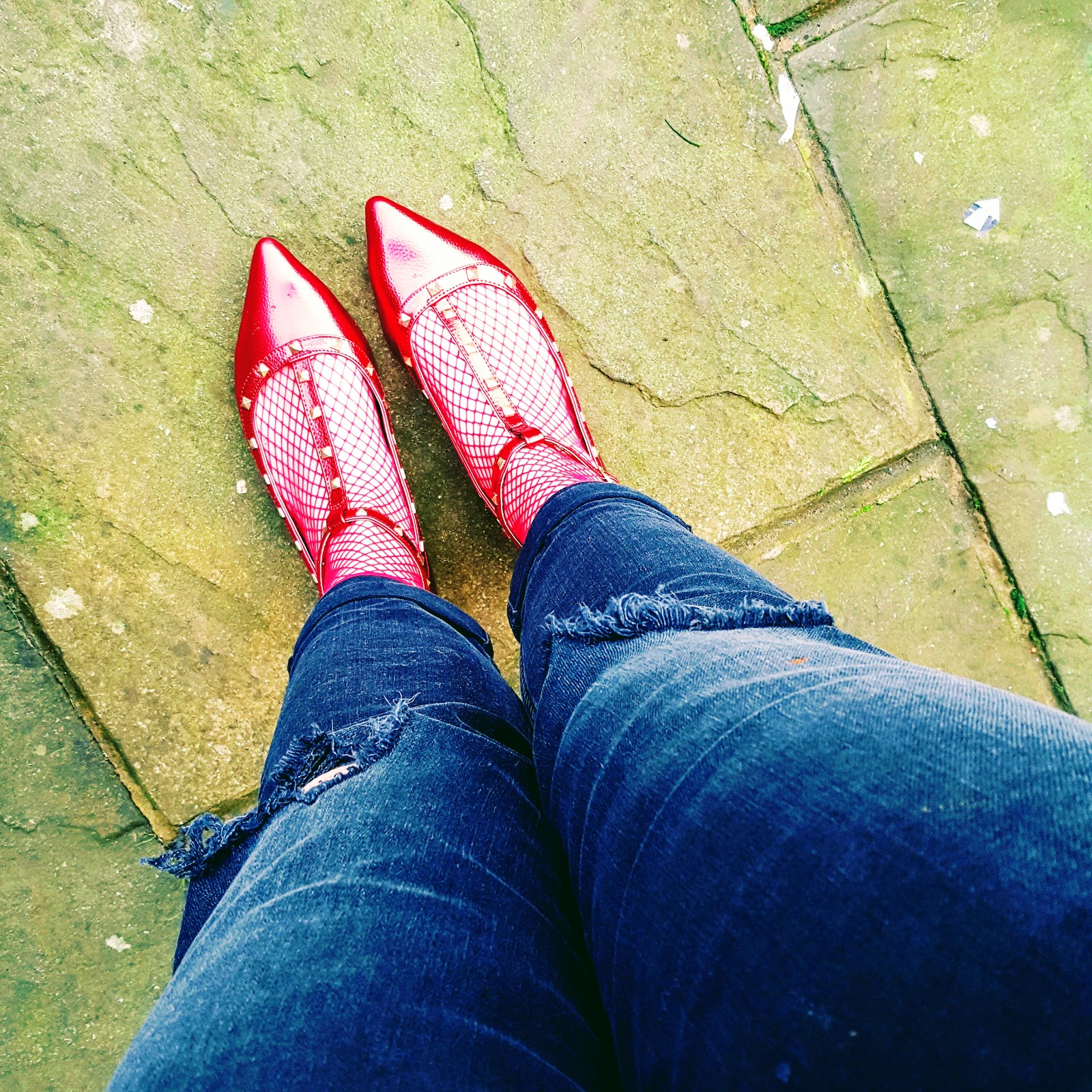 Red Shoes, Red Socks