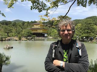 Al Tempio d'oro di Kyoto