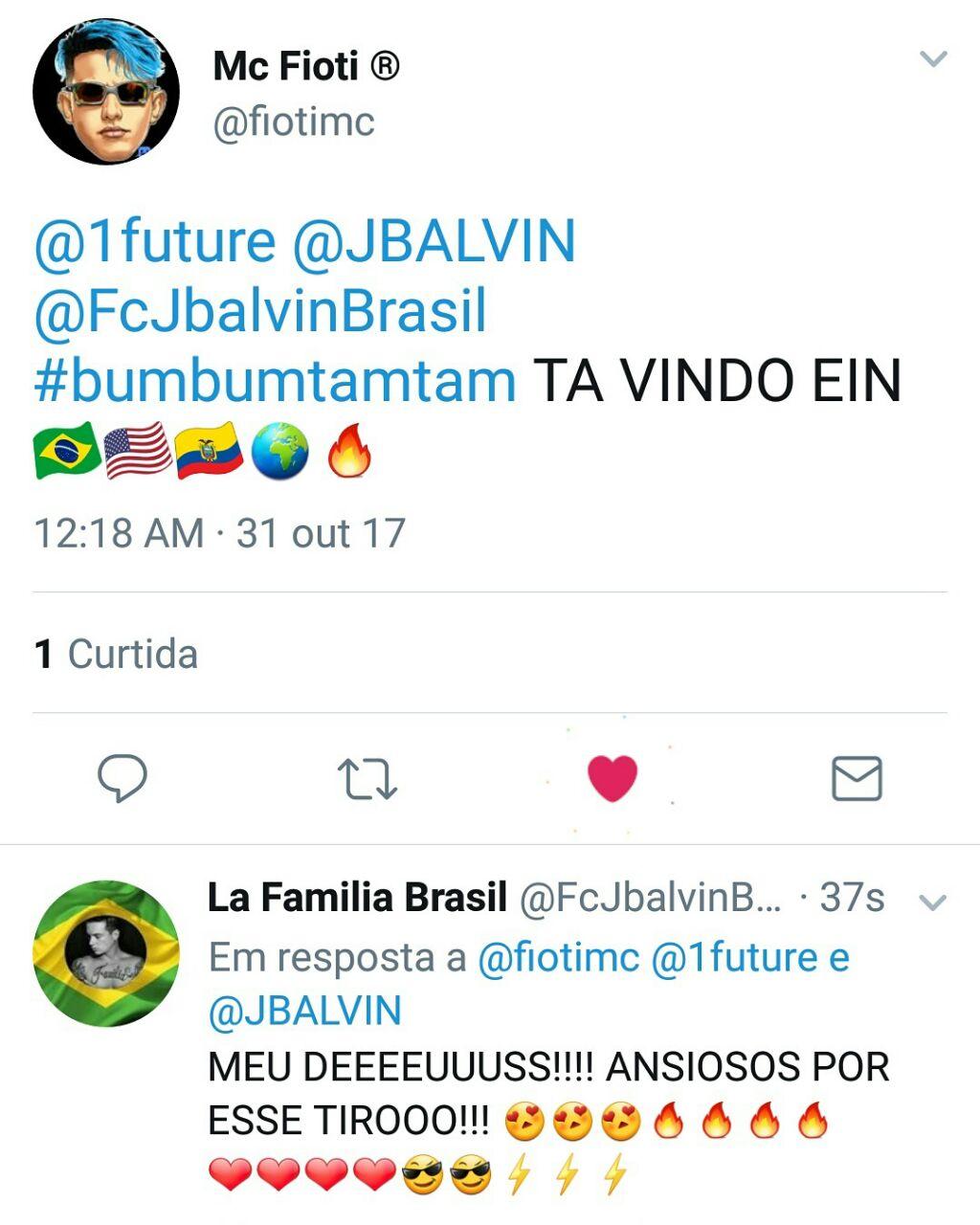 Mc Fioti Bum Bum Tam Tam Download 2: Além De Nova Canção Com Anitta, J Balvin Lançará Versão De