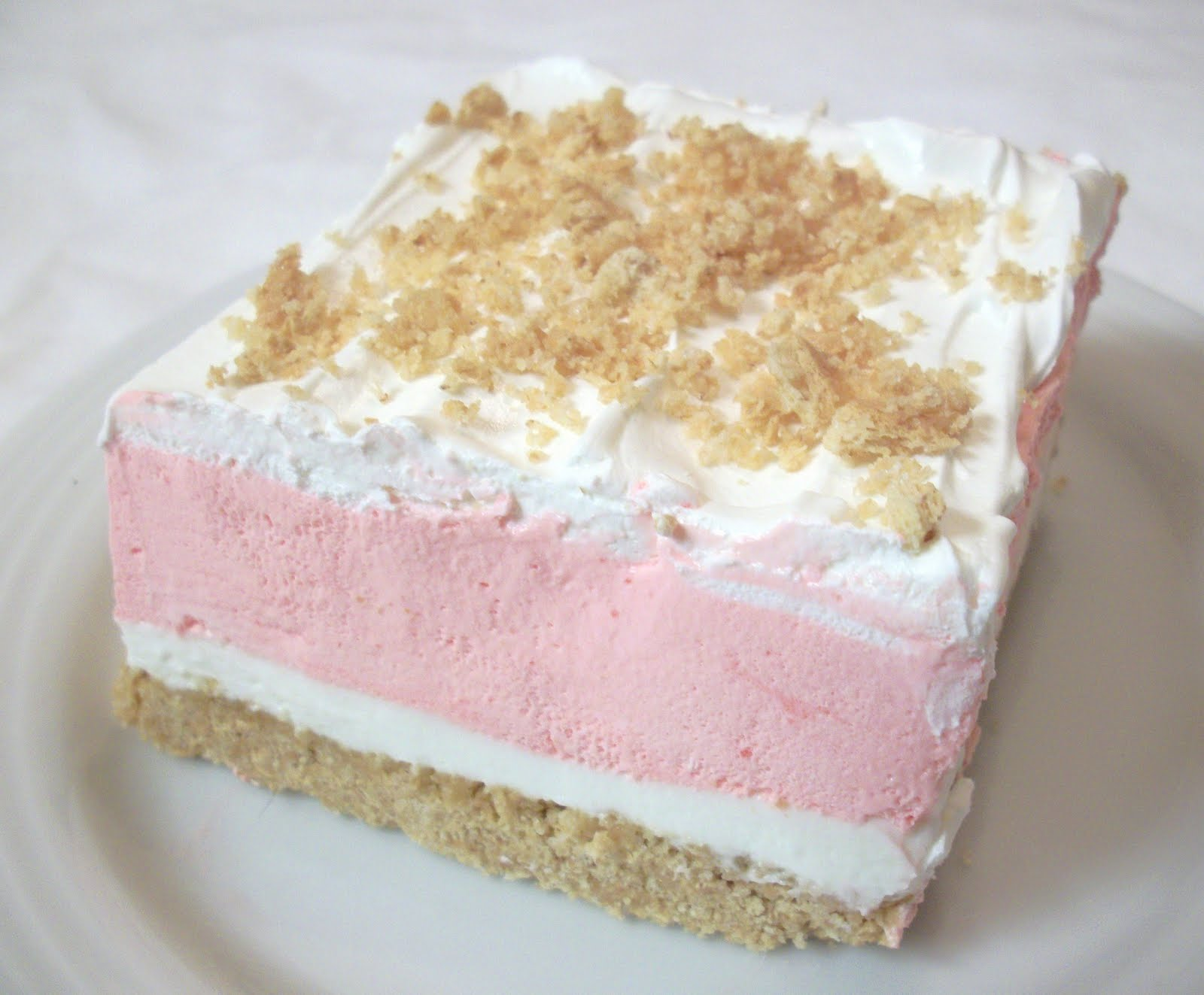Strawberry Cream Dessert recipe