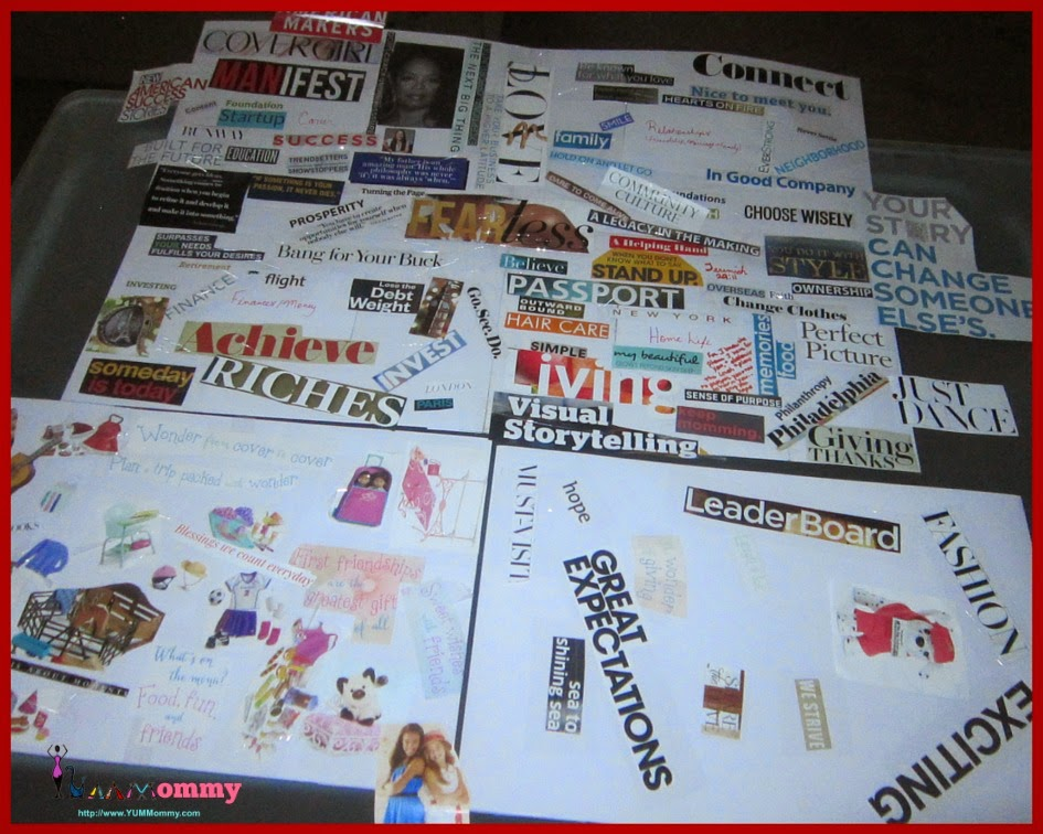 Vision Boards-YUMMommy.com