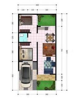 Denah Rumah Simpel Minimalis yang Cocok untuk Pasangan Muda