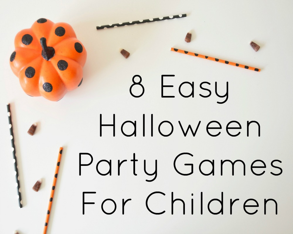 8 Easy Halloween Party Games For Children