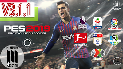 Option file pes 2019 android | PES 2019 Android Minimum Patch 3 3 1