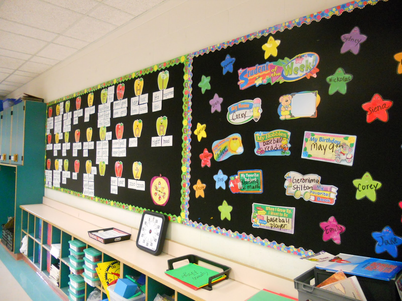 Bulletin Board Hacks To Save Your Sanity The Applicious Teacher