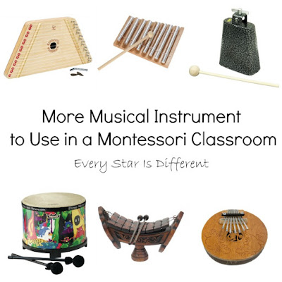 More Musical Instruments to Use in a Montessori Classroom