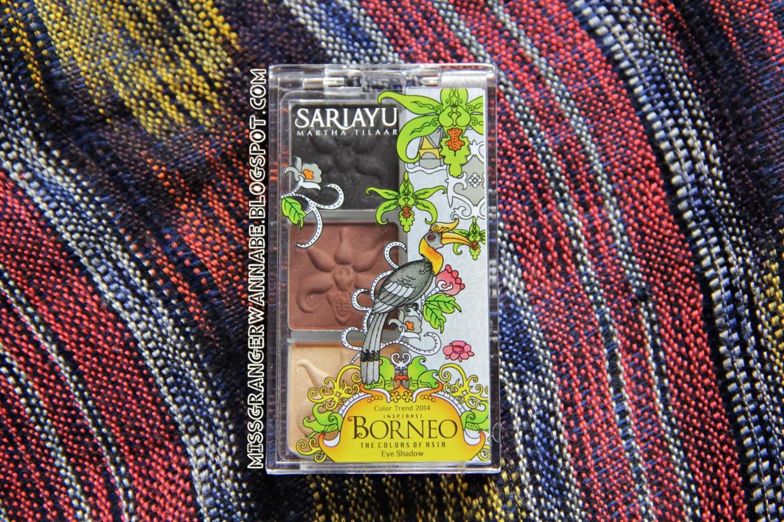 Eye Shadow Sari Ayu Borneo B-03 Review - Lia Harahap