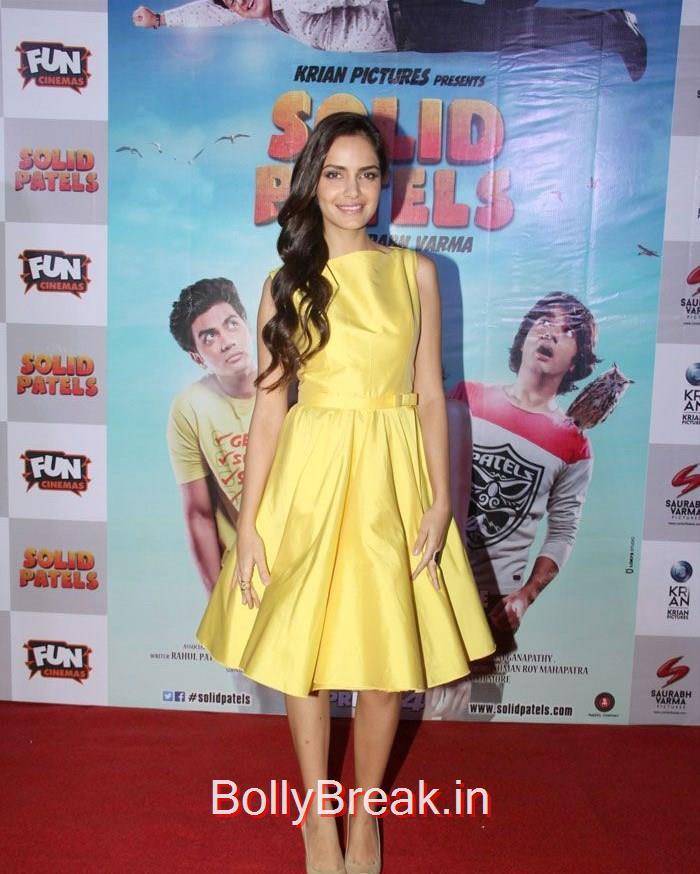 Shazahn Padamsee, Vaishali Desai, Shazahn Padamsee hot Pics from 'Solid Patels' Movie Trailer Launch