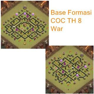 Formasi COC TH 8 War