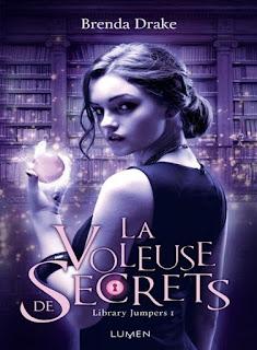 La voleuse de secrets, library Jumpers couverture tome 1 Brenda Drake