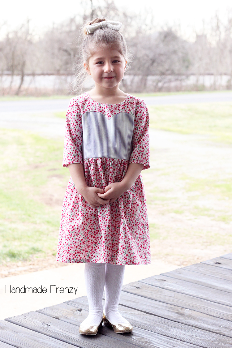Floral & Stripe // Magrath Dress & Tunic Pattern