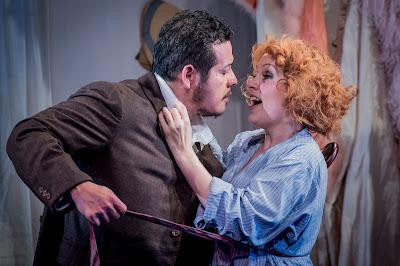 Leoncavallo: Zaza - Joel Montero, Anne Sophie Duprels - Opera Holland Park (Photo © Robert Workman)