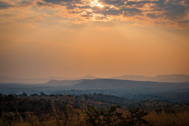 sunset malawi africa lilongwe