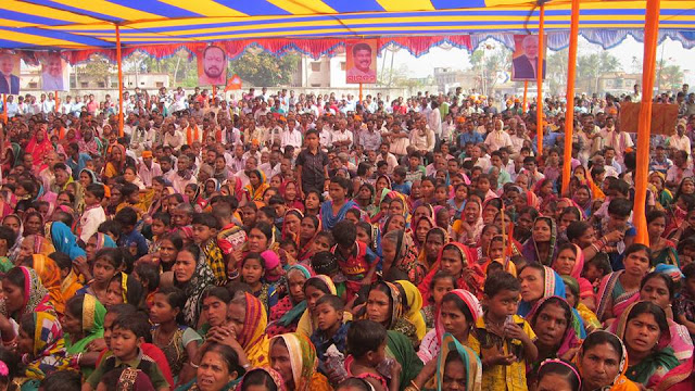 9 Election Campaign by Sri Dharmendra Pradhan, Hon'ble Minister of P&G at Bhadrak