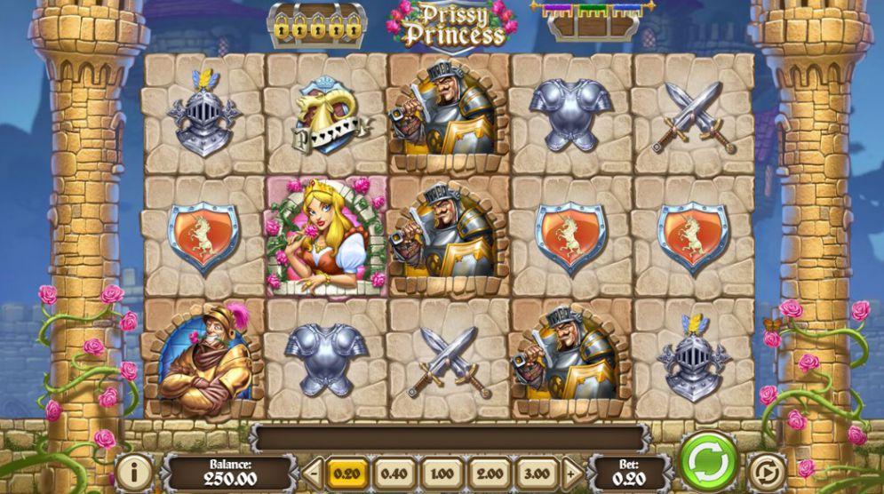 Jucat acum Prissy Princess Slot Online