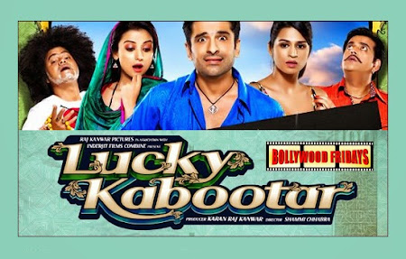 Poster Of Bollywood Movie Lucky Kabootar (2014) 115MB Compressed Small Size Mobile Movie Free Download worldfree4u.com