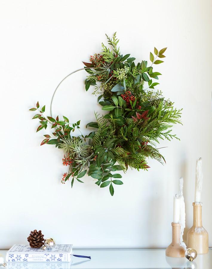 Como preservar ramas para arreglos y coronas