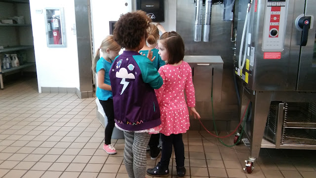 Washing hands Whimiscal Fun in the Kitchen with Girl Scouts of North East Ohio
