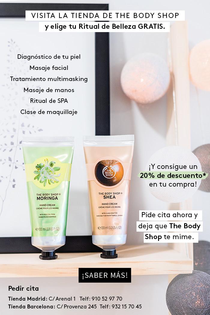 Step by step barcelona ritual de belleza gratis con - The body shop barcelona ...