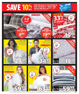 JYSK weekly flyer January 11 - 17, 2018