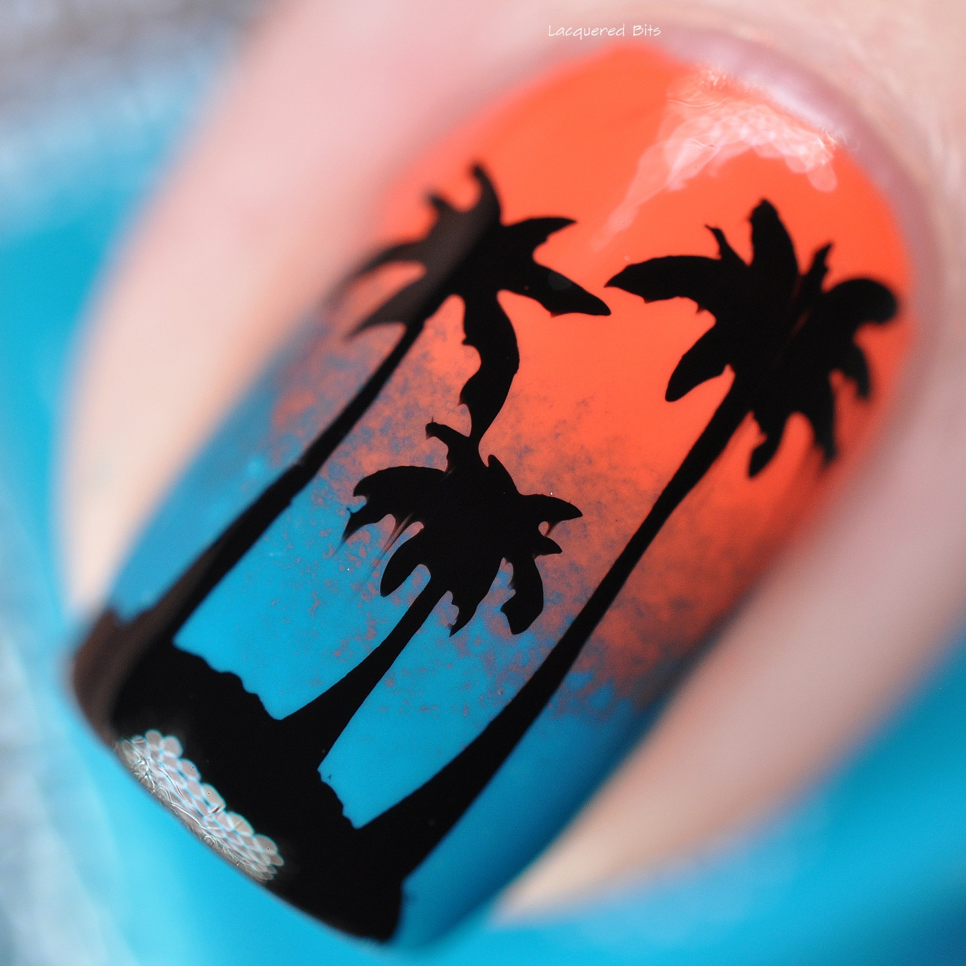 Alessandro Sunset Manicure With Palm Trees
