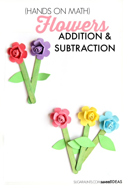 Spring Flower Kindergarten Math Craft The Ot Toolbox