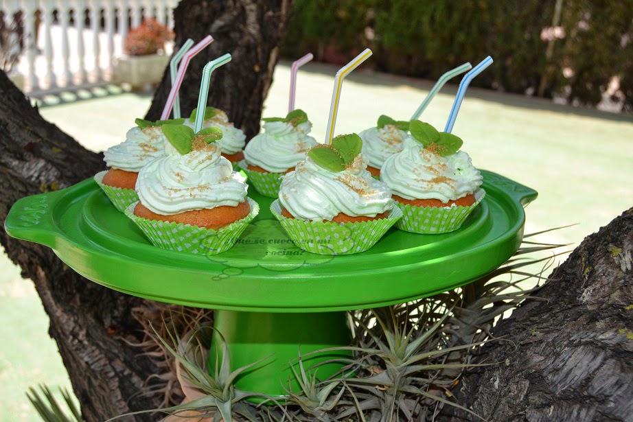 cupcakes de mojito