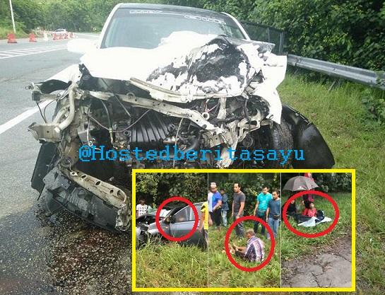 SAYU !! Lihat isteri maut depan mata ... Ustazah maut suami dan cucu cedera kemalangan petang 1 ramadan (6 Gambar)