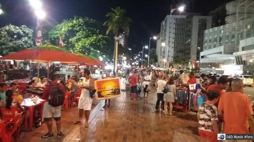 Diário de Bordo - Praia de Meireles - o que fazer em Fortaleza, Ceará