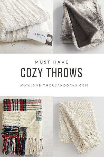 Must Have Cozy Throws
